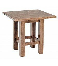 Woodlands Metal Side Table by Woodard