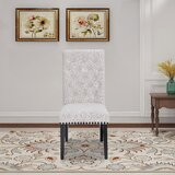 Fatima Tufted Linen Upholstered Parsons Chair (Set of 2) by Charlton Home®