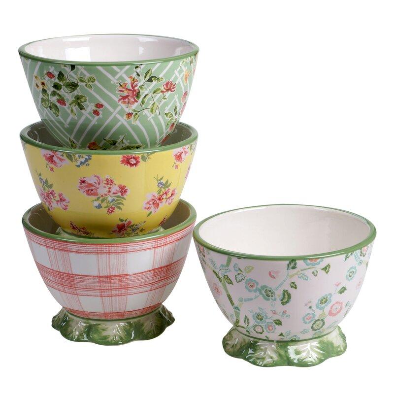 One Allium Way Holley 4 Piece Dessert Bowl Set Reviews Wayfair