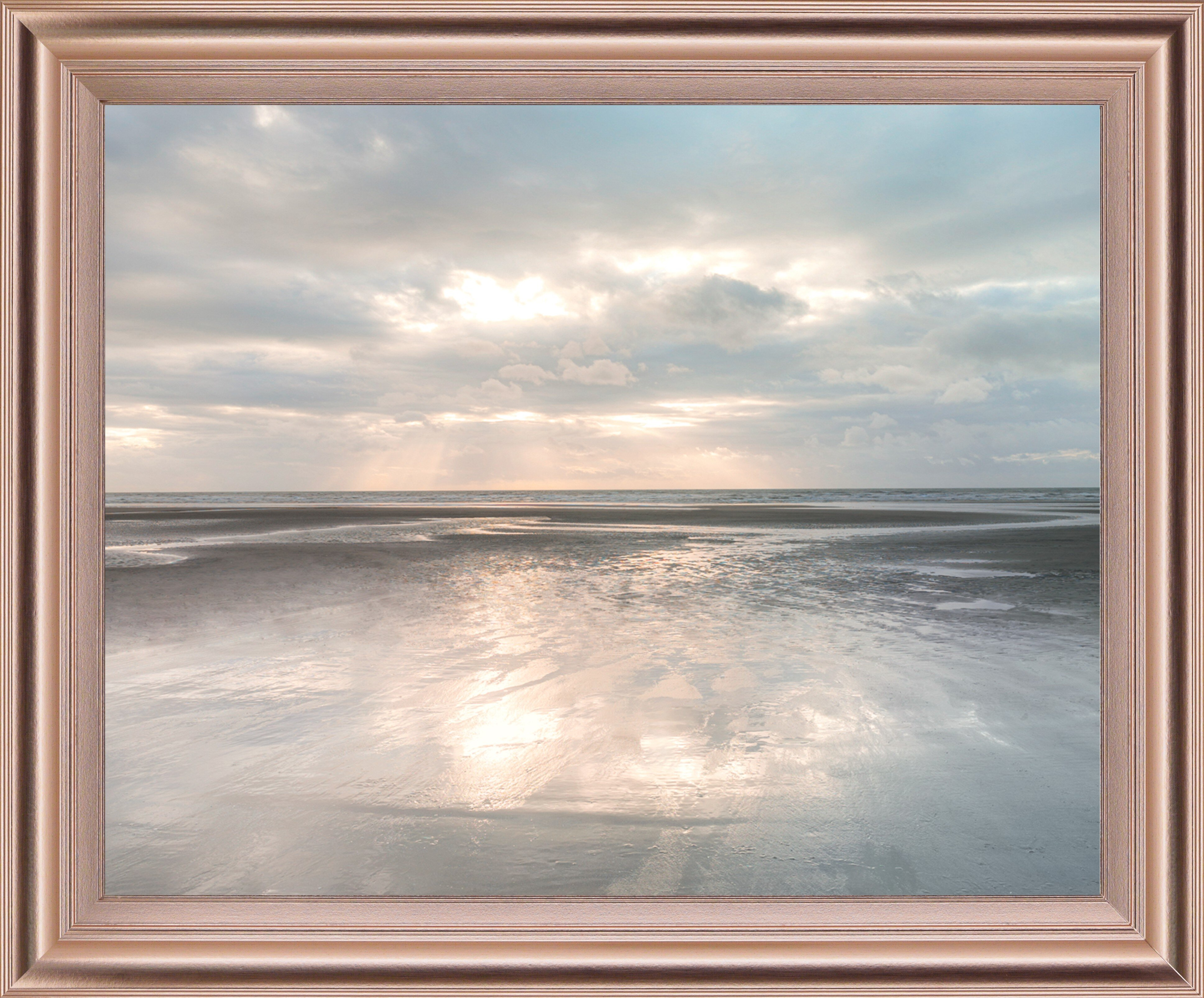 Dovecove Silver Sands By Assaf Frank Picture Frame Photograph Print On Plastic Wayfair