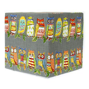 Buie Decorative Cube Ottoman by Zoomie Kids