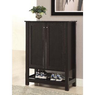 Best Reviews 10 Pair Shoe Storage Cabinet By Canora Grey