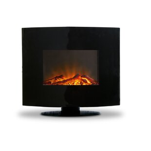Begin Wall Mounted Electric Fireplace by Orren Ellis