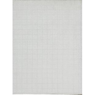 Indian Hand-Knotted Wool White Area Rug By Bokara Rug Co., Inc.