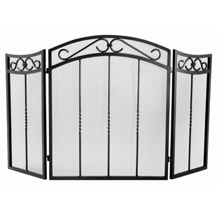 Arched 3 Panel Fireplace Screens by Napoleon