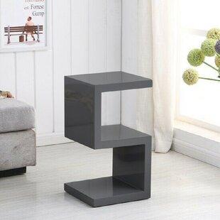 Gelincik S Shape Side Lamp Side Table By Wade Logan