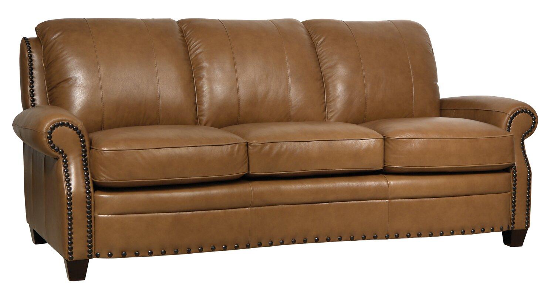 Darby Home Co Hubbard Leather Sofa & Reviews | Wayfair