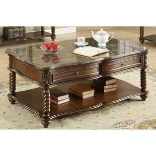 Canora Grey Belhaven Wooden Coffee Table