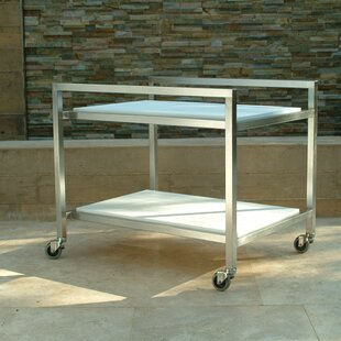 Talt Bar Serving Cart by Modern Outdoor