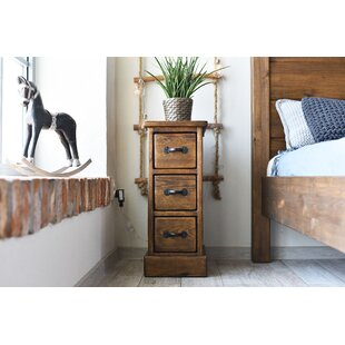 Cerny 2 Drawer Bedside Table By Union Rustic