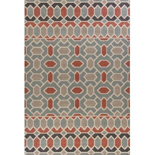 Condon Slate Blue Indoor/Outdoor Area Rug