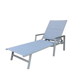 Shirehampton Reclining Patio Chaise Lounge
