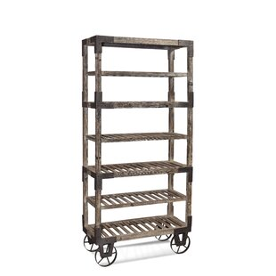 Laurel Foundry Modern Farmhouse Normandin Wood Baker's Rack