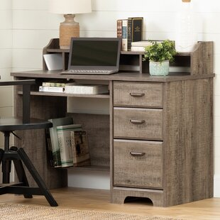 Versa Computer Desk with Hutch by South Shore