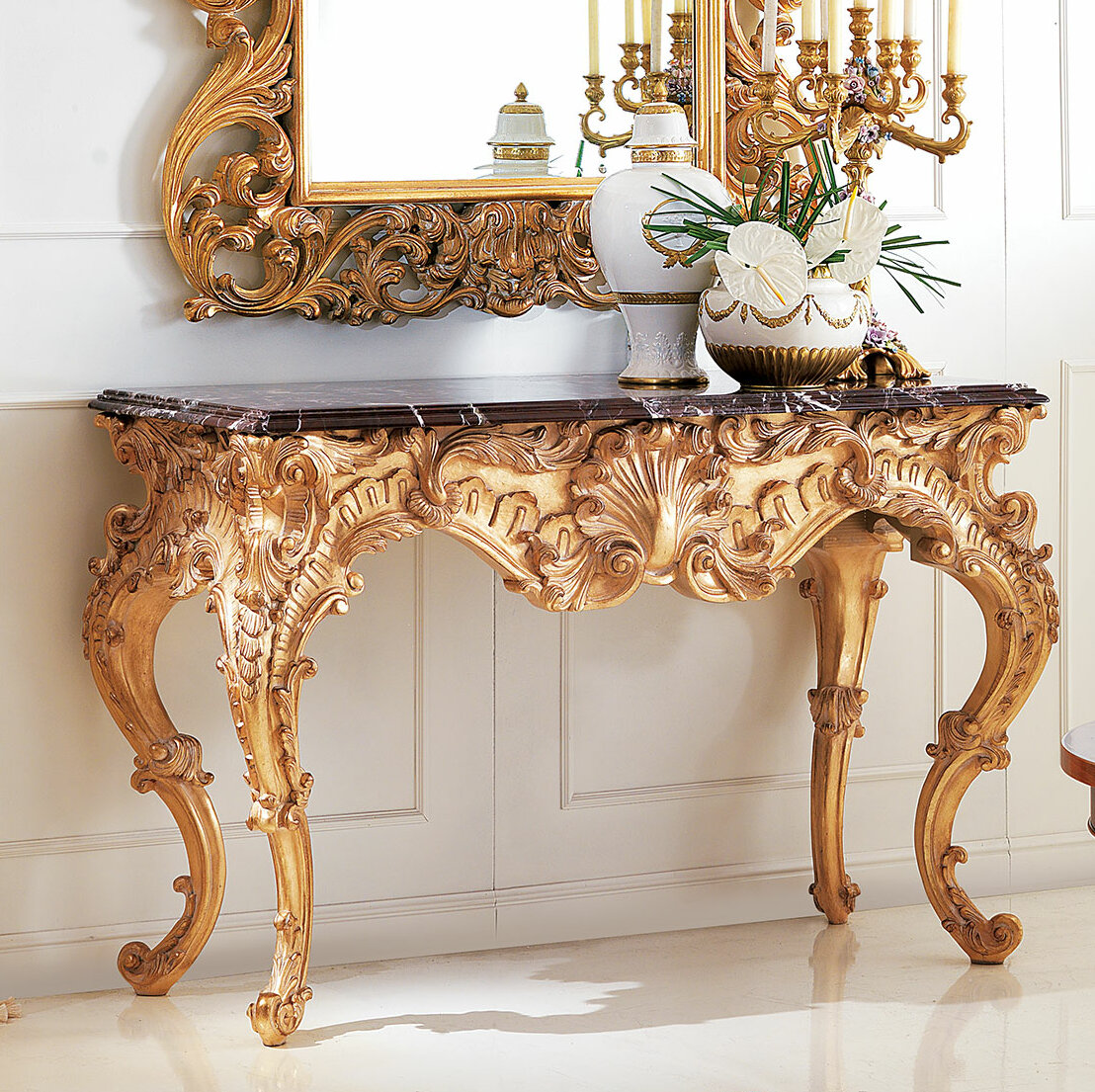 David Michael 56 Solid Wood Console Table Perigold