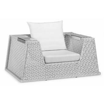 Summer Classics Riviera Patio Chair with Cushions | Wayfair
