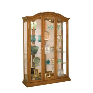 La Grange Lighted Curio Cabinet