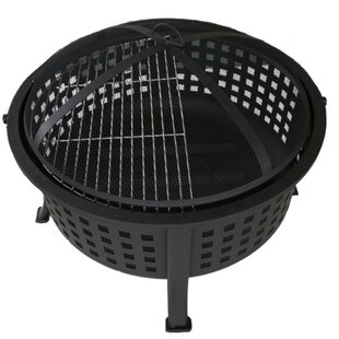 DDI Basket Weave Steel Wood Burning Fire ..