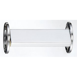 Brigman Architectural Directional 1-Light Chrome LED Bath Sconce by Latitude Run