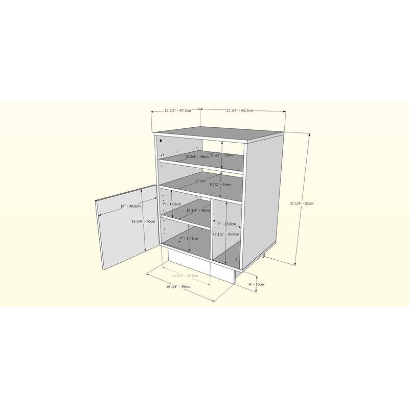 1 Door Audio Cabinets