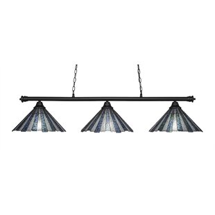 Mendez 3-Light 150W Kitchen Island Pendant by Red Barrel Studio