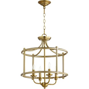 Quorum Rossington 4-Light Foyer Pendant