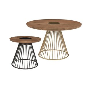 Teter Spino 2 Piece Coffee Table Set
