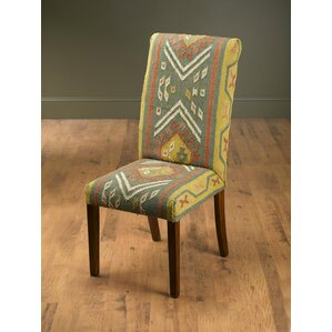 North La Junta Kilim Side Chair by Bloomsbury Market