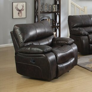 Amenta Supremely Relaxing Manual Glider Recliner