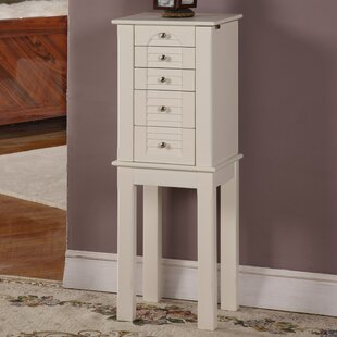 Winston Jewelry Armoire with Mirror