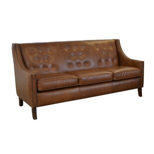 Westland and Birch Woburn Leather Sofa