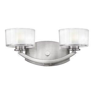 Inexpensive Lutz 2-Light LED Vanity Light By Latitude Run