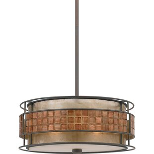 Bashir 3-Light Drum Chandelier