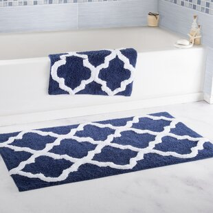 bathroom rugs set. 2 Piece Cotton Trellis Bath Rug Set Sets You ll Love  Wayfair