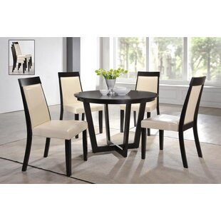 Wenzel Modern 5 Piece Dining Set