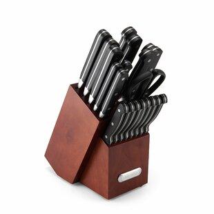 Forged 21 Piece Knife Set with Storage