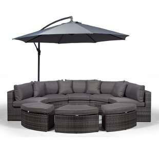 Tommy 8 Seater Rattan Conversation Set By Ebern Designs