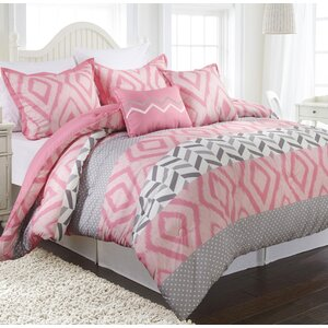 Maddy 5 Piece Reversible Comforter Set
