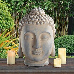 Buddha Head Statue Wayfair