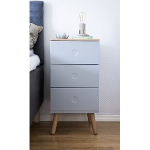 Dot 3 Drawer Chest By Tenzo