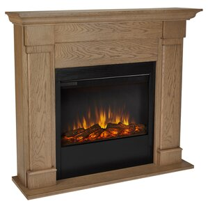 Slim Lowry Wall Mount Electric Fireplace by Real Flame