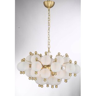 Jermain 10-Light Chandelier by Everly Quinn