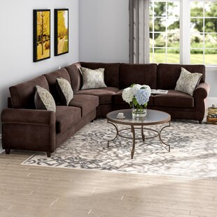 Chocolate Brown Sectional Sofa | Wayfair