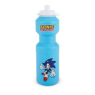 Sonic the Hedgehog Plastic Disposable Water Bottles (Set of 4)