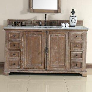 Ogallala 60 Single Driftwood Bathroom Vanity Set by Greyleigh