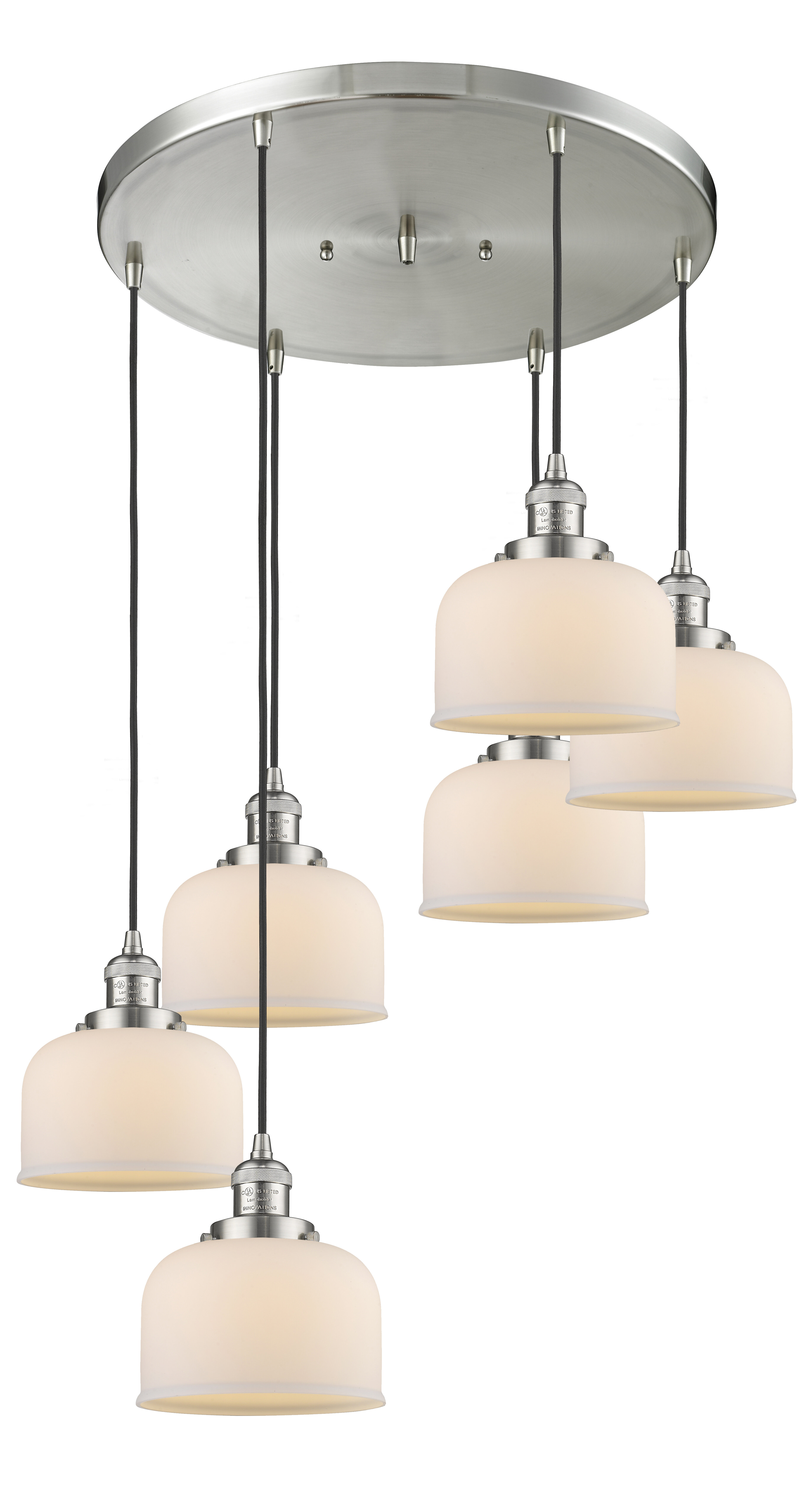 Williston Forge Mikels 6 Light Cluster Bell Pendant Wayfair