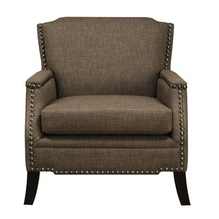 Davies Upholstered Nailhead Trim Accent Armchair by Charlton Home