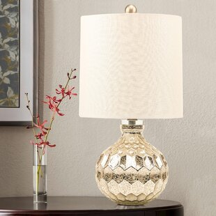 Pewter Silver Table Lamps You Ll Love Wayfair