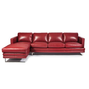 Melbourne Leather Sectional by Lazzaro Leather Purchase
