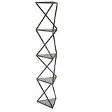 Buckelew 71.5'' H x 15.75'' W Metal Etagere Bookcase by 17 Stories